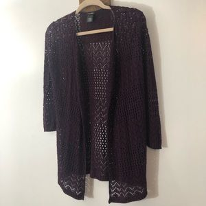 Open knit cardigan by Rue21 size Medium